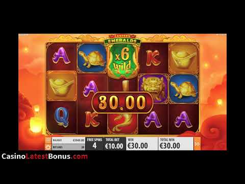 Eastern Emeralds Slot From QuickSpin (RESPINS, BONUSES, BIGWIN, MEGAWIN, SUPERBIGWIN)