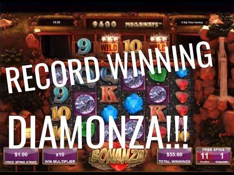 My winning record Bonanza Bonus Huge Win 20.4.2018