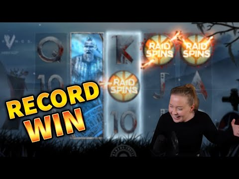RECORD WIN!!! Viking Slot Insane Win with 7 Free Spins – BIG WIN on Online Slots from MrGambleSlots