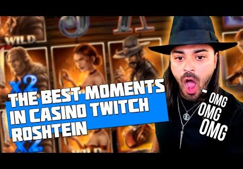 THE BEST MOMENTS IN CASINO | ROSHTEIN | BIGGEST PAYOUT | SLOT MACHINE JACKPOT