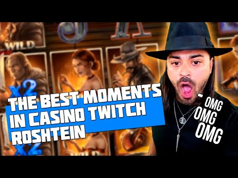 THE BEST MOMENTS IN CASINO   ROSHTEIN   BIGGEST PAYOUT   SLOT MACHINE JACKPOT