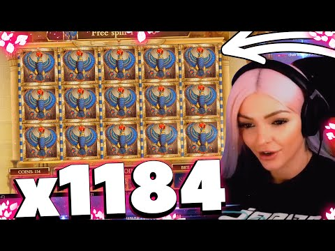IamLaura crazy win on Book of Dead slot – TOP 5 Biggest wins with Laura