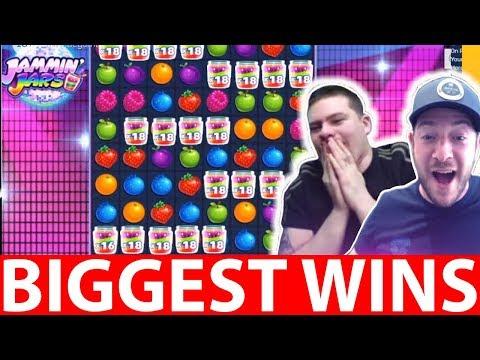 ONLINE CASINO WINS #15 FRUITY SLOTS JAMMIN JARS BIG WIN