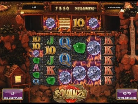 Bonanza Slot – Re-Triggers = Mega Big Win!