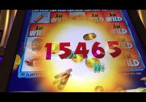 The Flintstones slot machine SUPER BIG WIN 420x