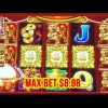 ** SUPER BIG WIN ON DANCING DRUMS AT MAX BET 8.88 ** SLOT LOVER **