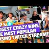 TOP 5 BIGGEST CRAZY WINS | THE MOST POPULAR CASINO TWITCH STREAMERS | SLOT PIRATE KINGDOM MEGAWAYS
