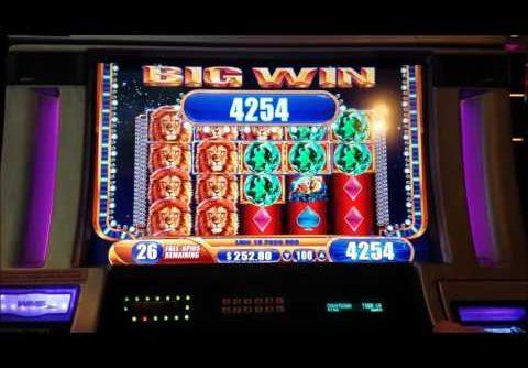 ***OVER 400x Bonus*** King of Africa Slot Machine HUGE WIN!