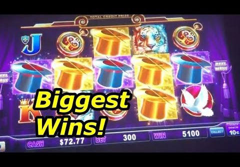 BIGGEST WINS – Lock it Link Hold Onto Your Hat slot machine