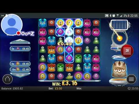 Casumo Reactoonz 400x little slot gamble by mrmassive. Huge win.