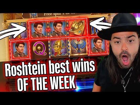 ROSHTEIN mega win on Book of Dead slot  – Top 5 Biggest Wins of week