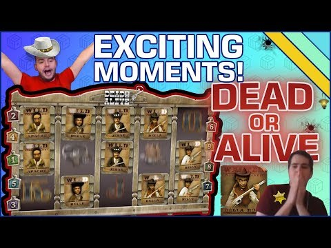 EXCITING MOMENTS on Dead or Alive slot!