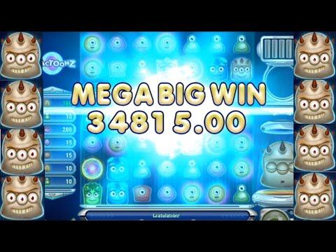 Reactoonz Slot Big Win! Jackpot – Gargantoon erscheint – 100€ Einsatz – mega Gewinn!