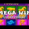 MEGA WIN ON LUCKY ZODIAC – 10€ BET