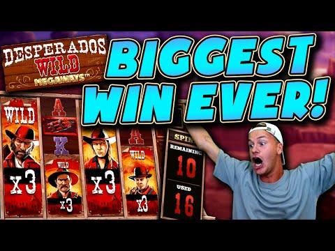 BIGGEST WIN EVER on Desperados Wild Megaways!