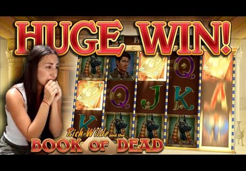 BOOK OF DEAD – HUGE WIN!!