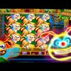 Lucky Honeycomb Twin Fever LIVE  BONUSES BIG WIN 5c Konami Video Slot