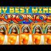 ** MEGA BIG WINS!** My Best WINS on Kronos Slot Machine!
