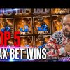 Top 5  MAX BET WINS  – Streamer Record win 150.000 €