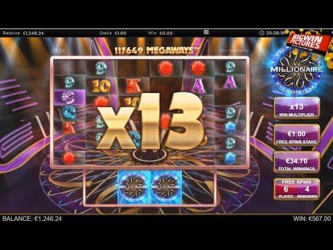 Millionaire Slot – 117649 Megaways BIG WIN!