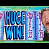 "BRENT & DAD!!  A HUGE WIN ON ""WIZARD OF OZ""!! MAX BET!! SLOT MACHINE POKIES"
