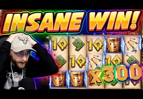 RECORD WIN!!! 300 Shields Extreme BIG WIN – HUGE WIN from CasinoDaddy Live Stream