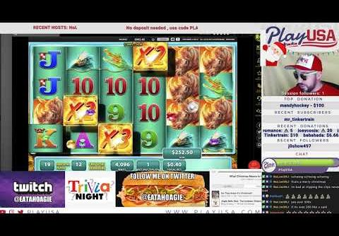 Watch 646x Big Win On Raging Rhino Online Slot Machine | Golden Nugget Online Casino NJ