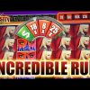 KATARINA SLOT MACHINE INCREDIBLE WHEEL BONUS RUN SUPER BIG WIN MAX BET