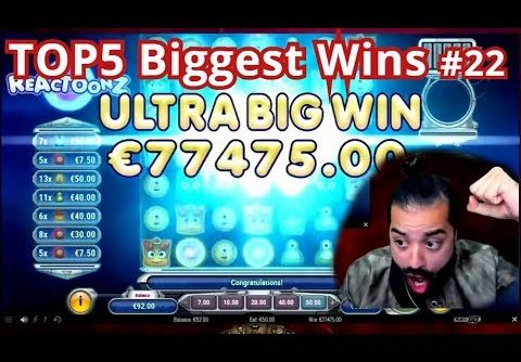 BIG RECORD €77000 WIN!! (1550x) TheBestMoments  TOP5 Biggest Wins #22