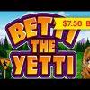 Betti The Yetti Slot – $7.50 Bet – BIG WIN SESSION!
