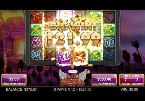 Lil Devil slot By Big Time Gaming – x700 Mega Win