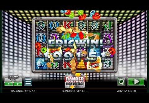 Danger High Voltage – Huge Bonus Mega Big Win