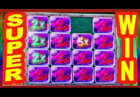 ** MEGA WIN ON NEW KONAMI ** CATCH FOUR ** SLOT LOVER **