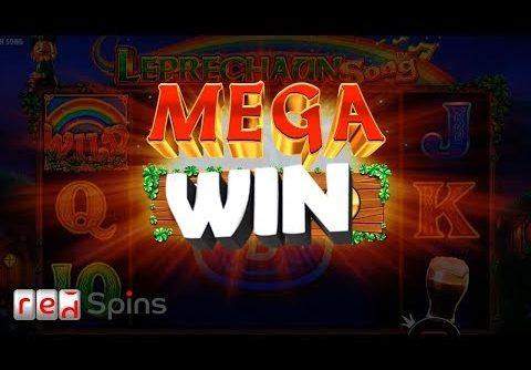 MEGA WIN!!! Leprechaun Song – Giant Symbol Slot Bonus feature
