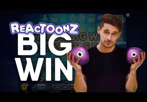 Online Slots – x367 Big Win!!! – My Biggest Win So Far!! Reactoonz Slot