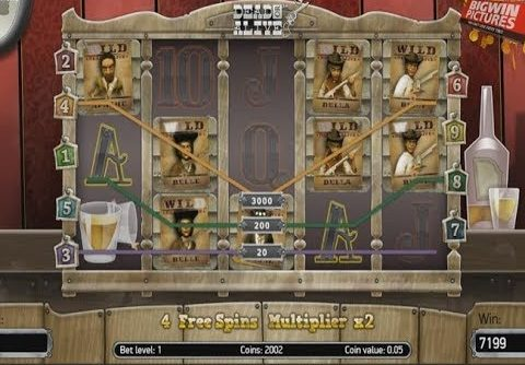 Dead Or Alive Slot – MEGA BIG WIN!