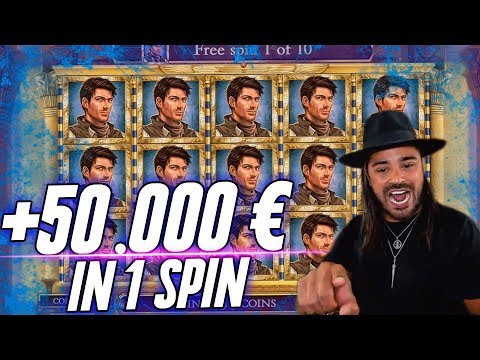 ROSHTEIN WIN 50.000 € in 1 Spin – Huge Win  Book of Dead slot