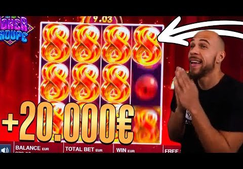 ClassyBeef Mega Win 20.000€ on Joker Troupe slot – TOP 5 Biggest wins of the week