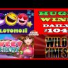 Slotomoji [MEGA WIN], Sweet Alchemy (HUGE WIN),Wild Times slot(BIG WIN) Daily #104