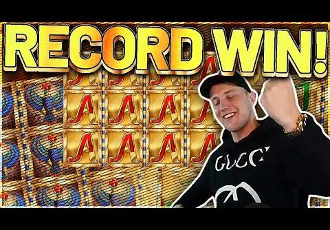 RECORD WIN! Legacy Of Dead Big win – MEGA WIN on Casino Games from Casinodaddy LIVE STREAM