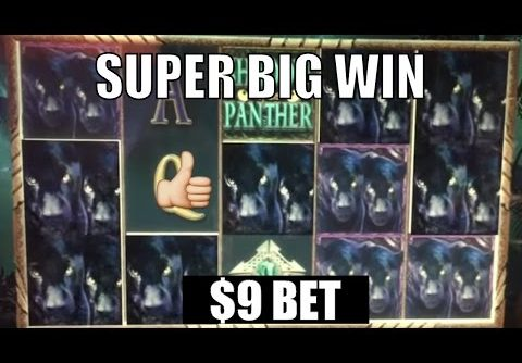 ** SUPER BIG WIN ** SHADOW OF PANTHER n others ** SLOT LOVER **