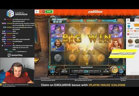 The Sword and The Grail top 5 BIG WINS   Record win on slot