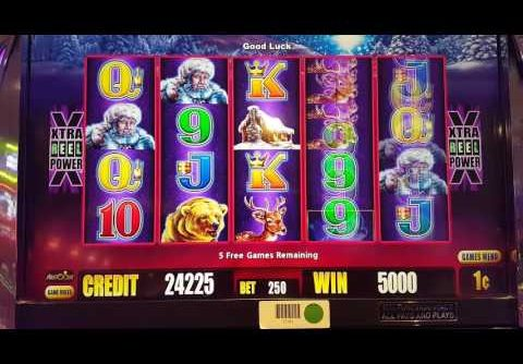 TIMBERWOLF Deluxe Slot Big Win Bonus ~ x50 Pick