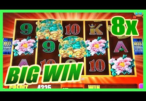 5 FROGS SLOT MACHINE SUPER FEATURE BIG WIN BONUS w/ MULTIPLIERS Aristocrat Slots