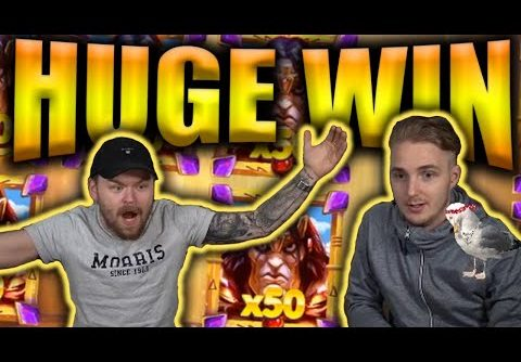 HUGE WIN on RISE OF THE MOUNTAIN KING – Casino Slots Big Wins