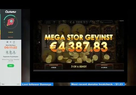 Game Of Thrones – Mega Win – Jackpot – Baratheon