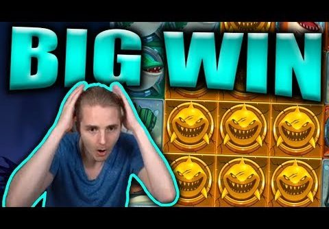BIG WIN on RAZOR SHARK – Casino Slots Big Wins