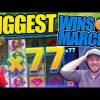 BIGGEST SLOT AND CASINO WINS OF MARCH!! Fruity Slots Highlights!