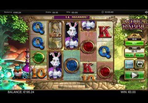 White Rabbit Slot Mega Win (1x Feature Drop)