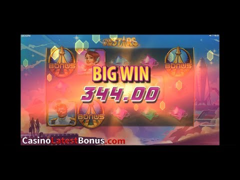 Ticket to the Stars slot QuickSpin (FREESPINS, BONUSES, BIGWIN, MEGAWIN, SUPERBIGWIN)